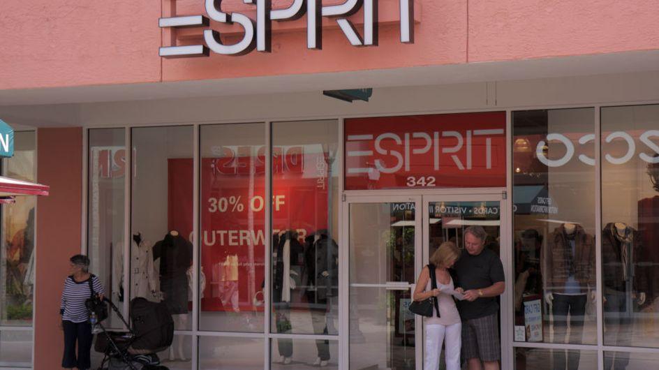 Mode-Riese Esprit schließt die Hälfte seiner Geschäfte