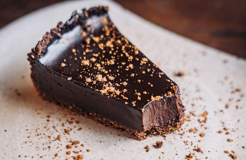 Vegane Schokoladen-Mousse-Torte: Rezept ohne Backen!