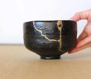 Le kintsugi, l'art de réparer et sublimer ses objets cassés avec de l'or