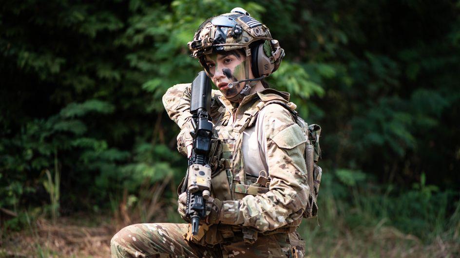Pour la première fois, une femme rejoint les Bérets Verts de l'armée américaine