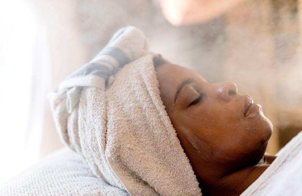 Sauna facial, l'astuce beauté pour purifier sa peau à la maison