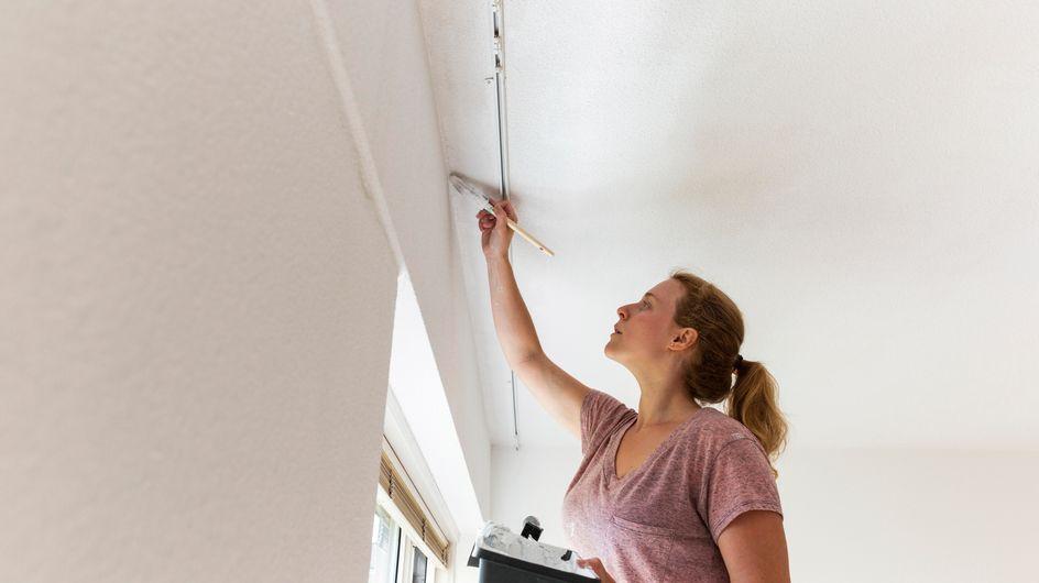Nos astuces de pro pour peindre un plafond sans faire de traces