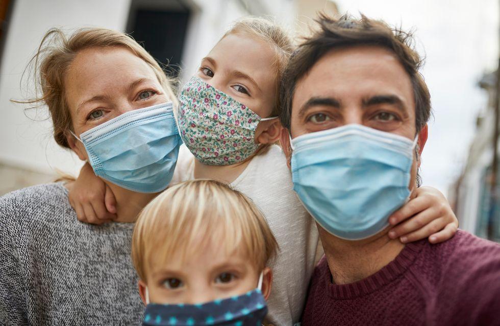 Masques obligatoires : à combien cela revient-il par mois aux familles ?