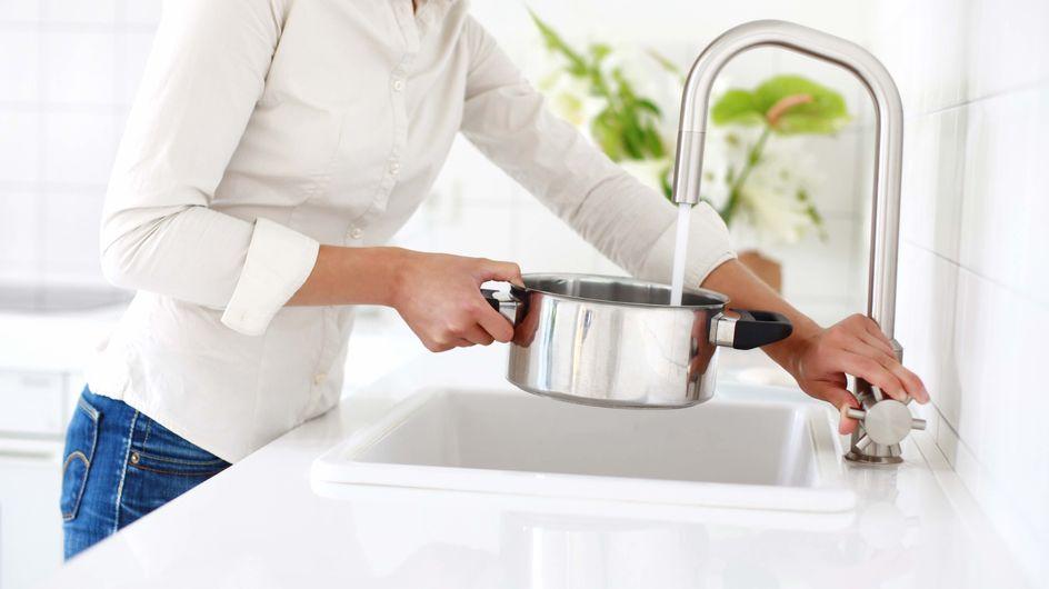 5 astuces pour diminuer sa consommation d'eau en cuisine !