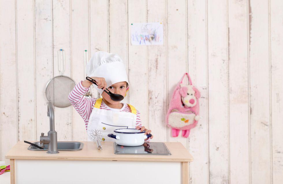 Soldes jeu cuisine enfant : -55% sur la cuisine en bois Hape !