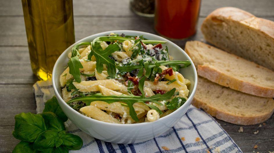 Weltbester Nudelsalat: Schnelles Rezept mit Rucola und Parmesan