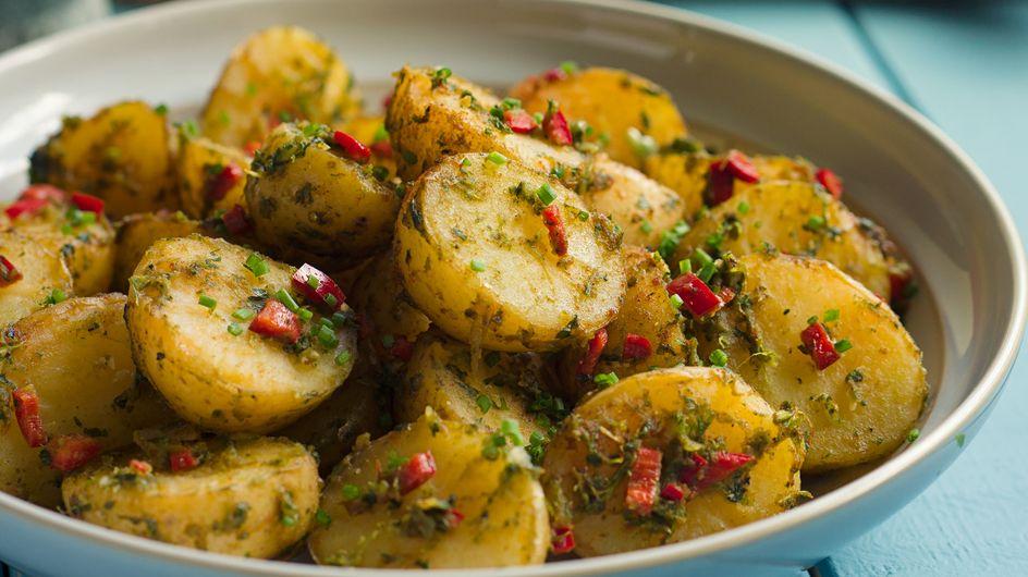 Schneller Kartoffelsalat: Leckeres & modernes Blitz-Rezept