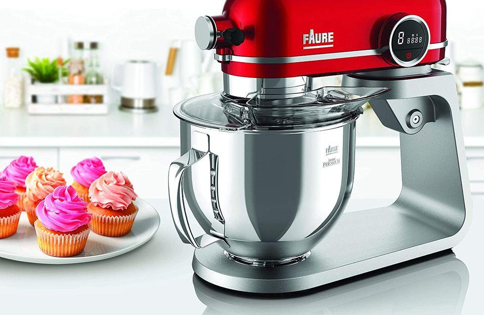 Soldes Robot Pâtissier : -54% sur le robot pâtissier Faure Magic Baker Premium