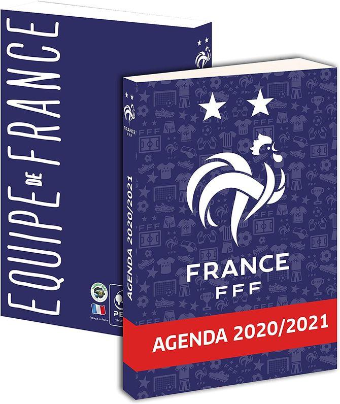 Agenda scolaire Equipe de France 2020-2021