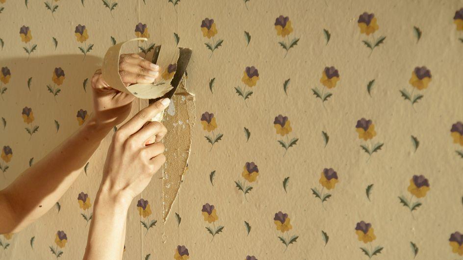 Nos conseils d'experts pour décoller du papier peint