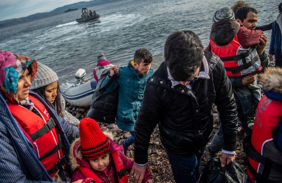 La Grèce aurait abandonné des migrants en pleine mer