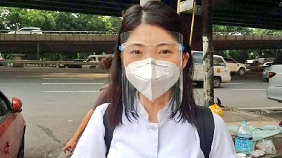 Cette infirmière a aidé une femme à donner naissance à son bébé dans la rue