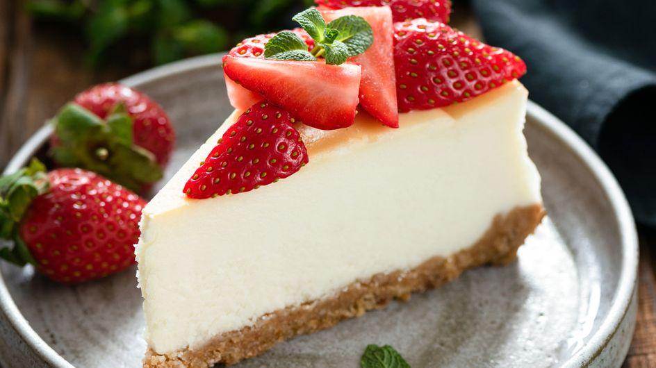 New York Cheesecake: Dieses super cremige Rezept macht süchtig!