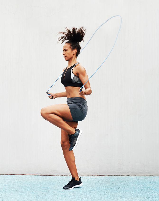4 exercices de corde à sauter efficaces pour maigrir