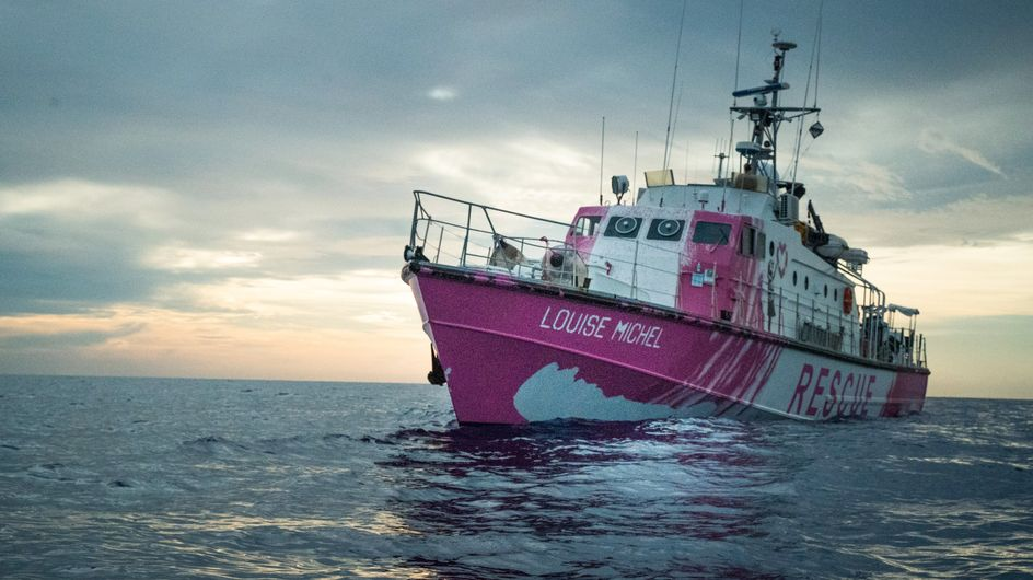 Un navire de sauvetage féministe s'élance sur les mers grâce à Banksy et Pia Klemp