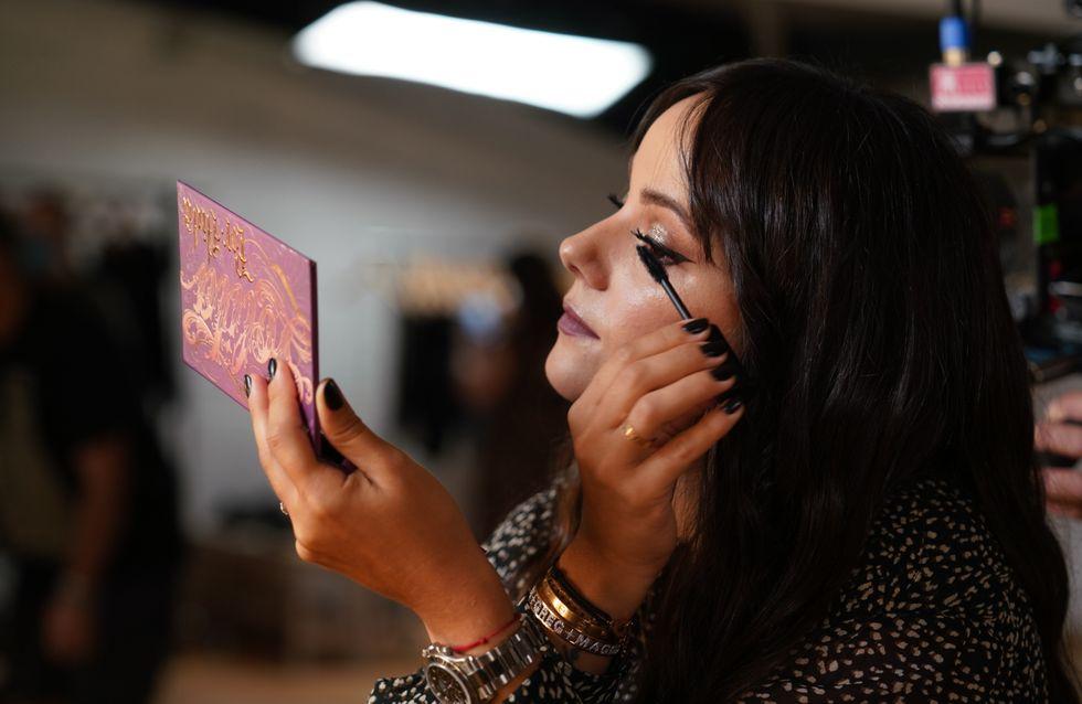 Alizée collabore avec KVD Vegan Beauty pour la campagne de la collection Lolita