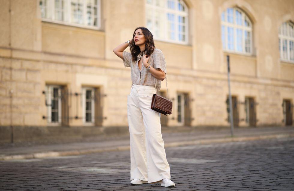 Le pantalon palazzo, zoom sur la pièce mode star de la rentrée