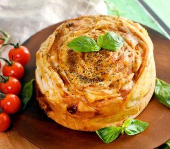 La pizza roulée de Cyril Lignac : voici comment la réaliser !
