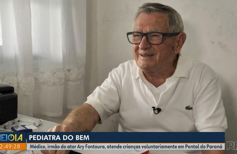 Ce pédiatre soigne gratuitement les enfants à 92 ans