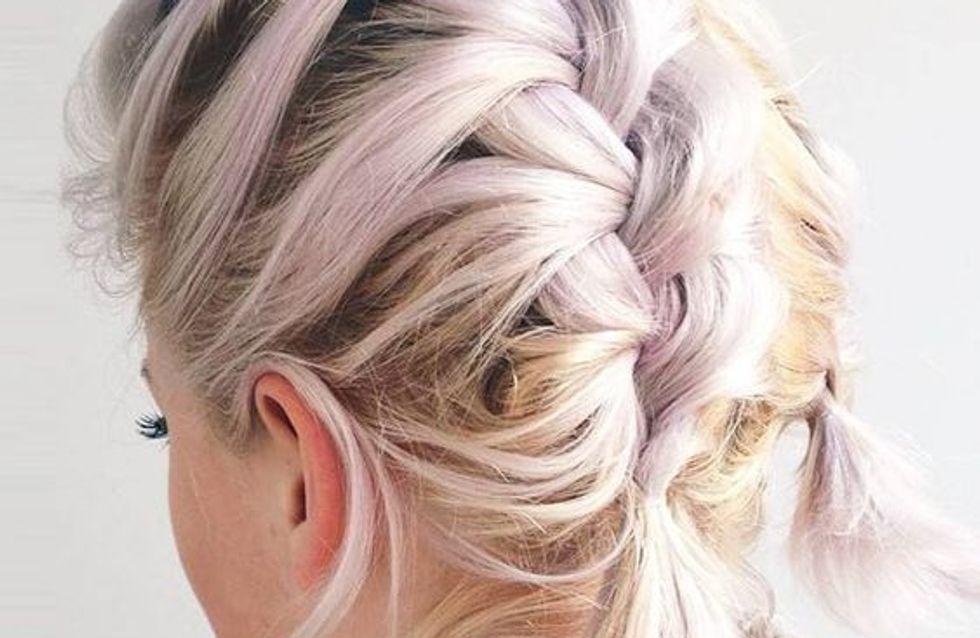 Favorito Trecce capelli corti: 13 idee per acconciature mai banali CJ11