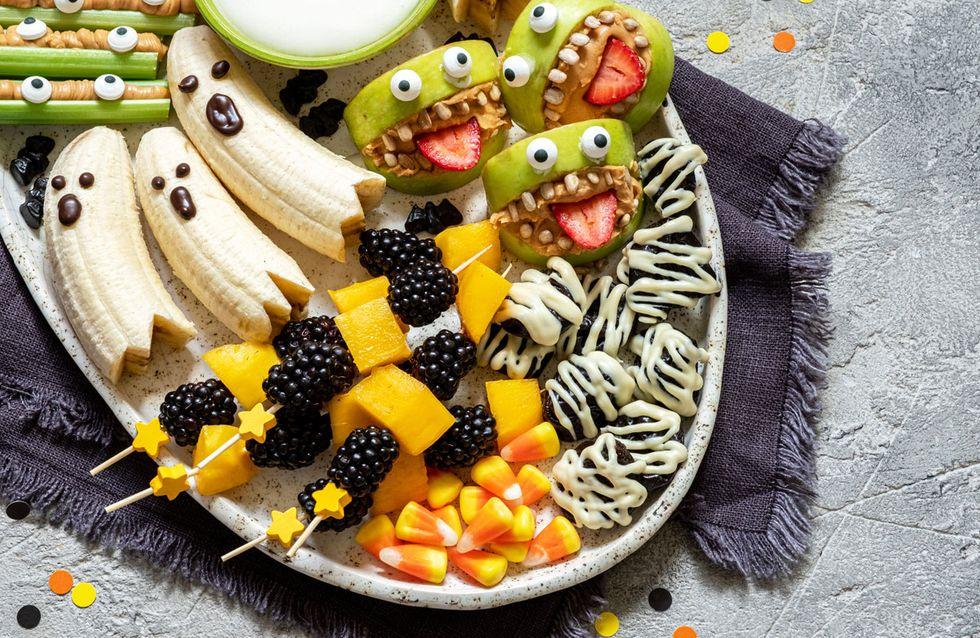 5 Gesunde Halloween Snacks Schnell Und Einfach