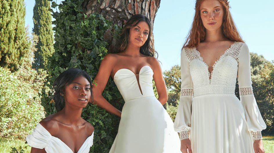 Pronovias lance #WeDoEco, sa première collection de robes de mariée durables