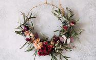 DIY Trockenblumen-Deko: So bastelt ihr ein Flower-Mobile