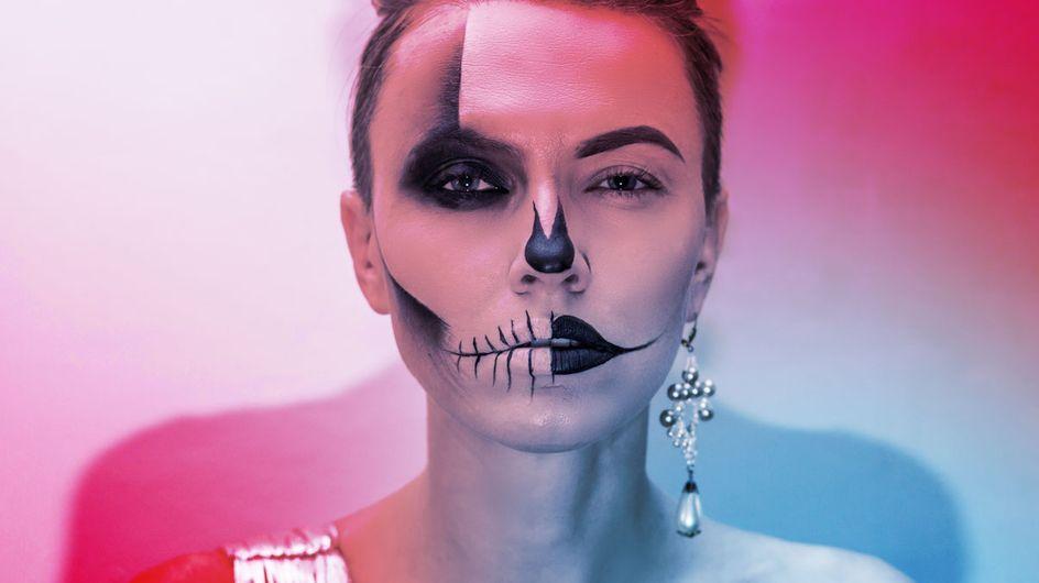 Totenkopf schminken: Anleitung für 7 verschiedene Looks