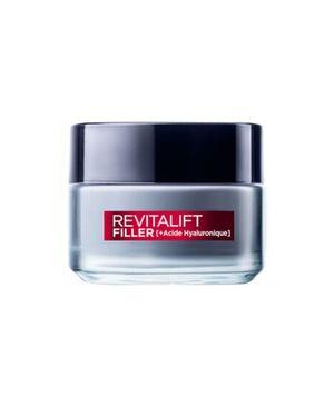 Soin revolumisant anti-âge jour Revitalift Filler [+ Acide Hyaluronique], 17,90 €, L'Oréal Paris