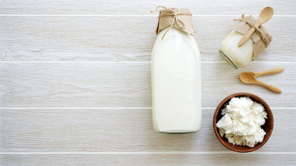 Kefir di latte: tutti i benefici del latte fermentato prodotto da granuli di kefiran
