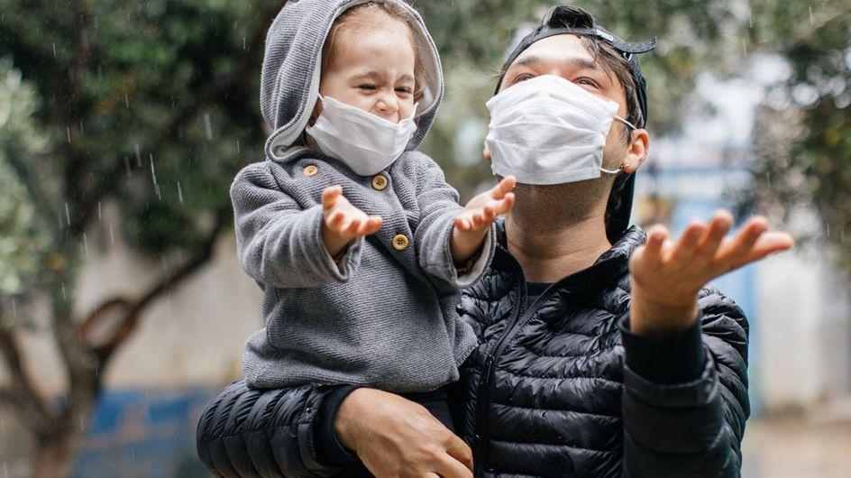 Maskenhygiene im Herbst: Weniger Schutz durch Regen?