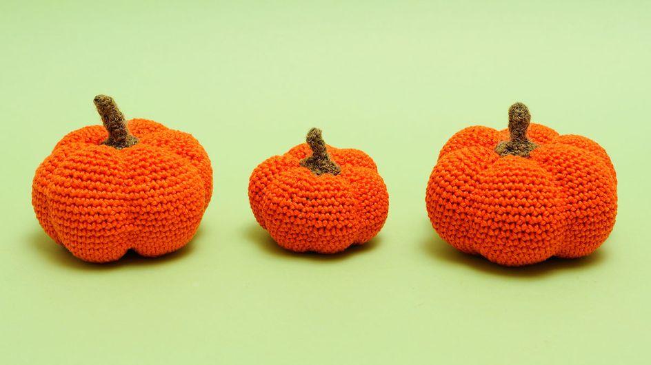 Kürbis basteln: 5 einfache Pumpkin-DIYs ohne Schnitzen