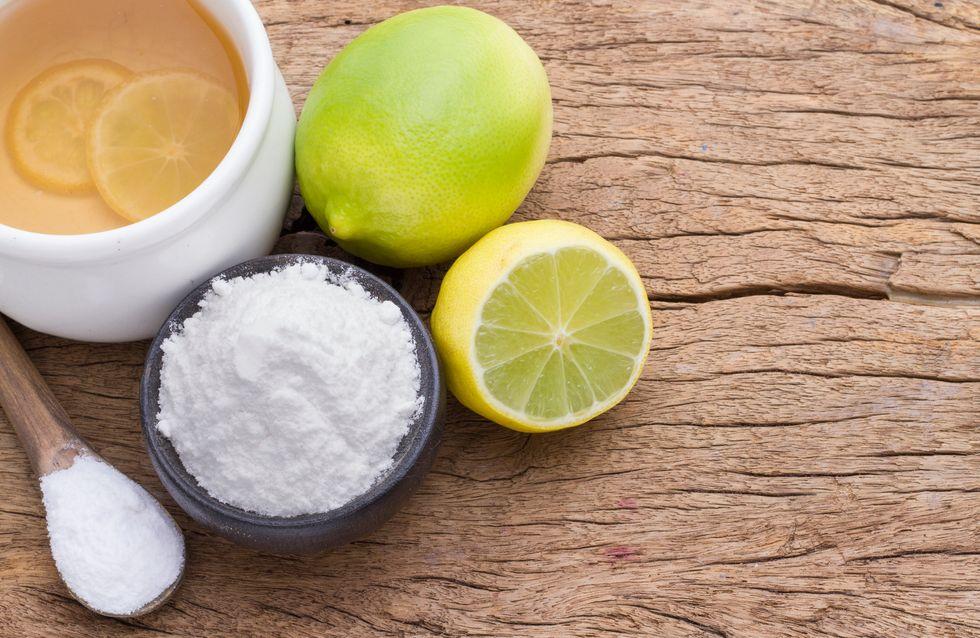 Bicarbonato e limone: benefici e controindicazioni di questa bevanda detox