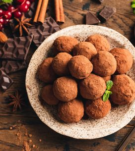 J-12 : Des truffes en chocolat faciles et rapides !
