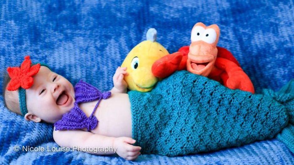 Ces photos d'enfants porteurs de trisomie 21 dans des costumes Disney sont trop craquantes