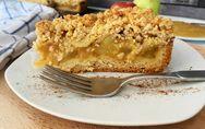 Apfelmus-Kuchen mit Vanillepudding: Super saftig und sooo lecker!