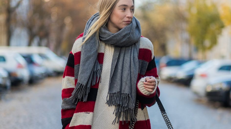 Schals und Tücher binden: Zehn coole Wege einen Schal zu tragen