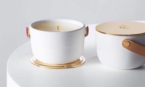 Bougie Feuilles d'Or, Louis Vuitton