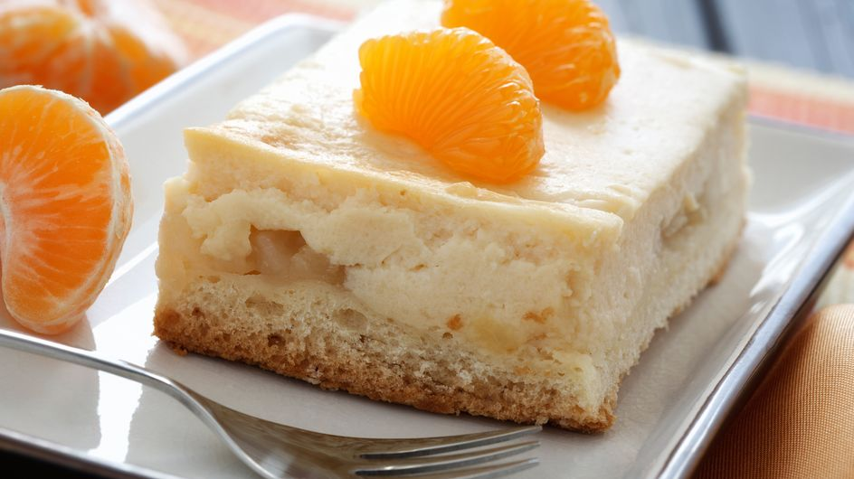 Schüttelkuchen: Blitz-Rezept mit Mandarinen in unter 10 Minuten!