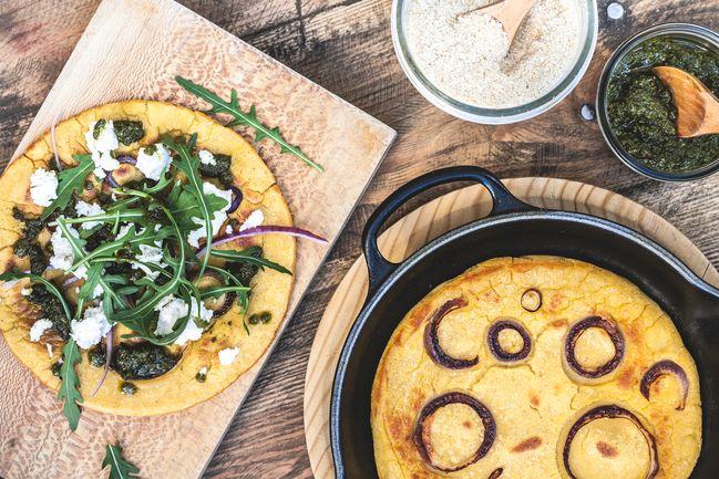 Tendances food 2021 : la farine de pois chiches, comme pour la socca