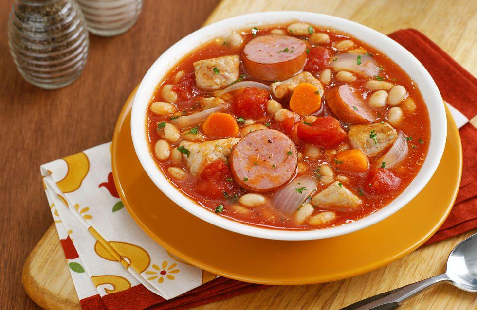 Bauerntopf: Schnelles Rezept mit Kartoffeln & Würstchen