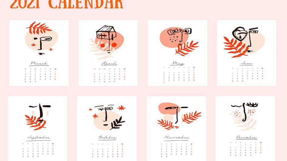 Wandkalender 2021: Die 10 schönsten Planer fürs neue Jahr