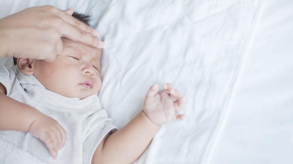 Febbre neonato: quali possono essere le cause?