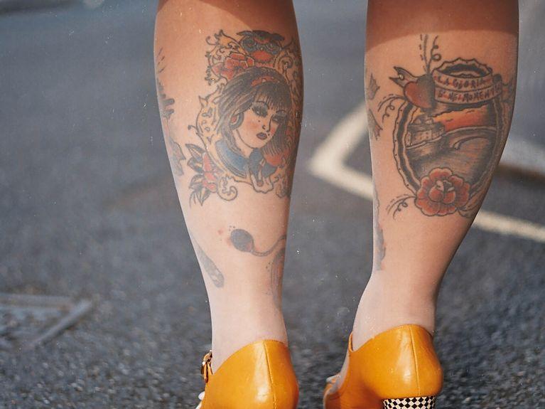 Tatouage Quels Motifs Se Faire Tatouer Sur Les Mollets