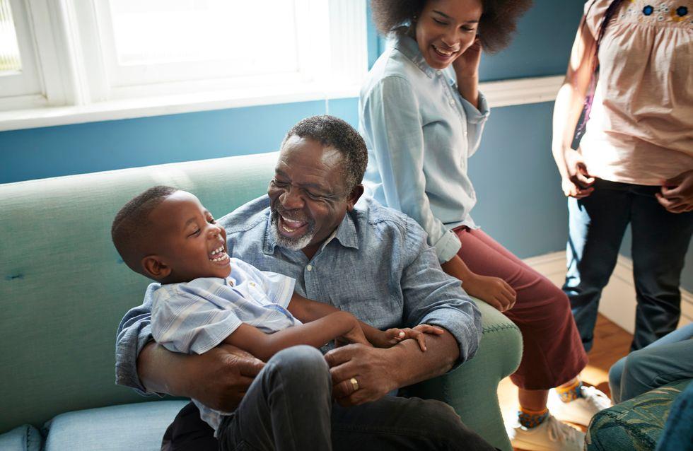Les enfants qui passent du temps avec leurs grands-parents sont plus heureux, selon cette étude