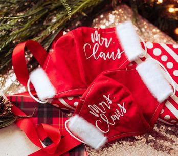 Masques Covid de Noël : la tendance insolite pour les fêtes de fin d'année !