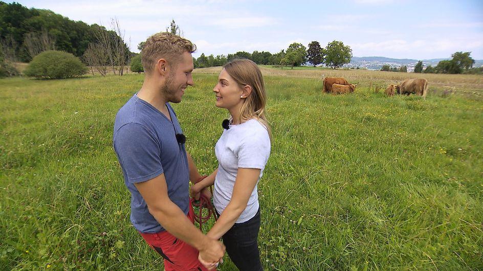 Bauer sucht Frau: Der erste Kuss von Patrick und Julia