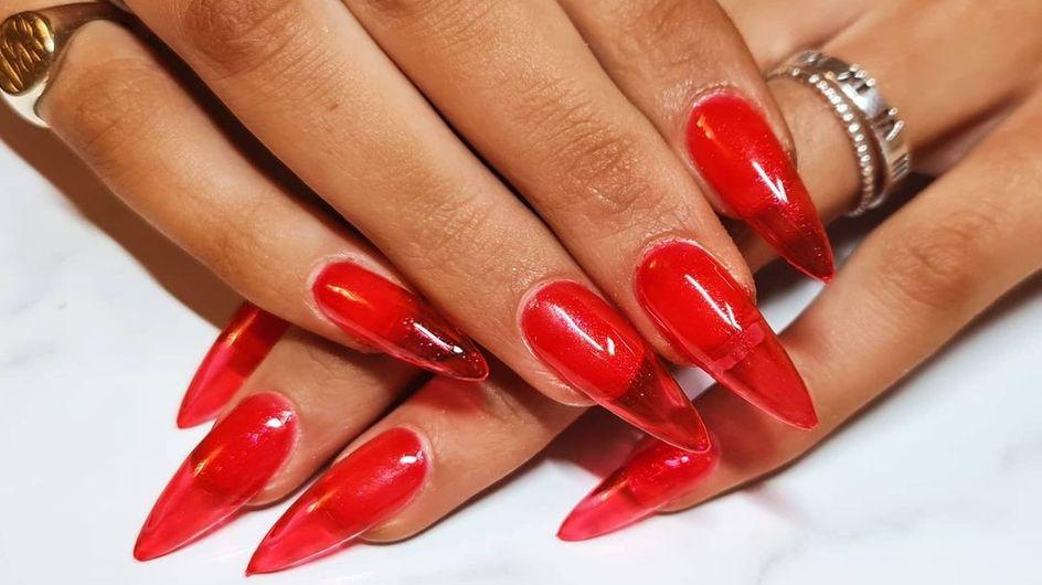 Jelly Nails, la tendance des ongles translucides pour laquelle on craque