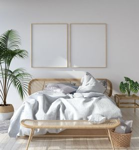 Arredare con le piante: camera da letto