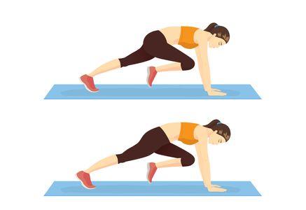 Exercice ventre plat cardio : le Mountain Climber